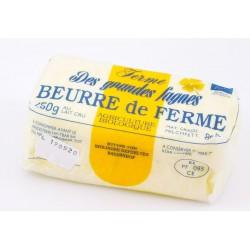 Beurre de ferme - Bio